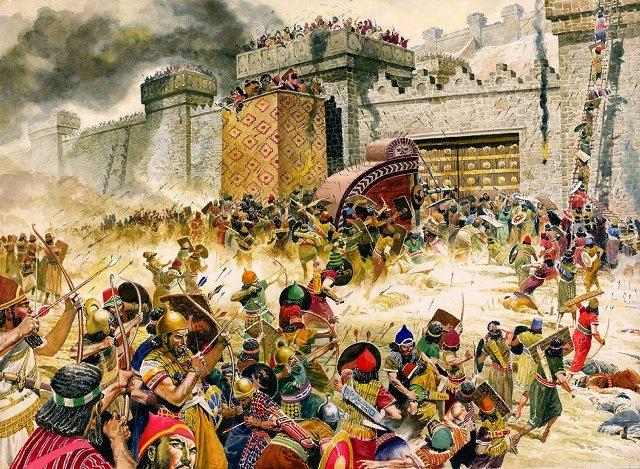Падение Ниневии, пророк Наум